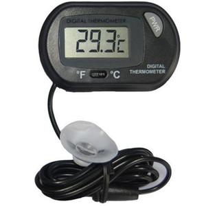 2017 neue LCD Digital Aquarium Aquarium Thermometer Temperatur Wasser Terrarium Schwarz Aquarien Aquarien Fisch kostenloser versand