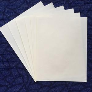 (JQ17200407) bond printinng paper 75% algodón 25% lino sin almidón con fibra roja y azul papel impermeable tamaño a4 color blanco