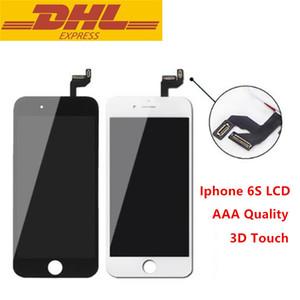 للحصول على اي 6S وظيفة العرض LCD محول الأرقام مع لمسة 3D الجمعية مع الإطار لا الميت بكسل معينة 4.7inch شاشة استبدال بالجملة