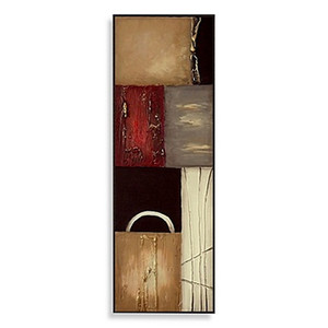 Dokulu Panel II Duvar Sanatı, saf Handpainted Modern Dekor Tuval Üzerine Pop Sanat Yağlıboya. Özelleştirilmiş boyutu kabul, Ücretsiz Kargo mye126