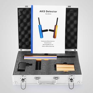 Detector de digitalização de alto desempenho profissional AKS detector de metais ouro Multi-função 2016V localizador caçador 3D Diamond Finder