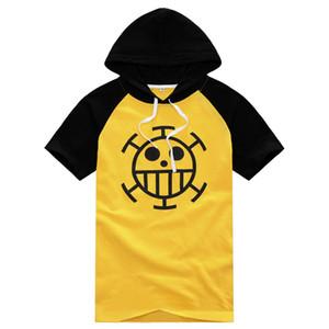 Anime One Piece Monkey D Luffy Trafalgar Law 3rd maglione t-shirt Cosplay
