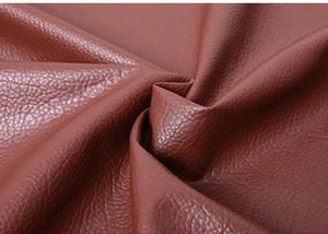 138 cm 0.8mm macio saco de couro tecido sofá tecido grande lychee couro pu artesanal diy imitação cama dura pacotes