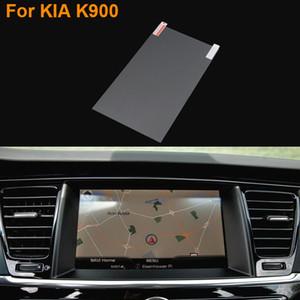 자동차 8 인치 GPS 네비게이션 화면 스타일링 Kia K900에 대 한 철강 보호 필름 LCD 화면 자동차 스티커의 제어