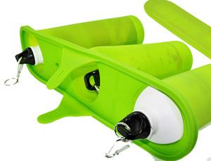 Nuevas tazas especiales económicas de tres tazas Molde verde de la abrazadera para la taza de la sublimación para la máquina de la sublimación 3d, material de goma