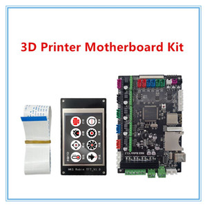 Freeshipping Micromake 3D Printer Parts MKS V2.2 Robin STM32 integrated board stm32 development board Support Heatbed with touch screen