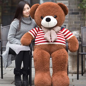 Venta caliente encantadora Teddy Bear Lovers Big bear Arms Animales de peluche Juguetes Muñeco de peluche Regalo de San Valentín Regalo de Navidad