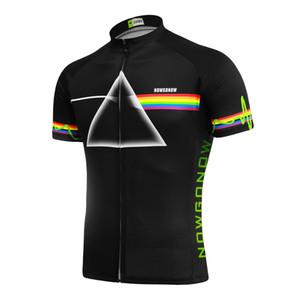 Özelleştirilmiş YENI Sıcak 2017 renkler Ray Işık Siyah JIASHUO mtb yol YARıŞ Takım Bisiklet Pro Cycling Jersey / Gömlek Tops Giyim Solunum Hava