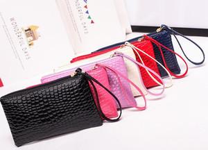Новый MS Han edition Pure кошельки цвет pu Япония и корейский стиль кожаный мешок руки тиснением крокодил изменение кошелек мода женский кошелек