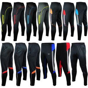 HOT hombres deporte pista atlética pantalones de fútbol flacos piernas Jogger entrenamiento de fútbol 2015 gym mens pantalones de chándal Jogging Homme pantalones