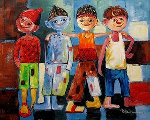 Freies Verschiffen, 205 #, Lots Wholesale, handgemalte abstrakte Porträt-Ölgemälde auf Segeltuch, jede mögliche kundengebundene Größe angenommen