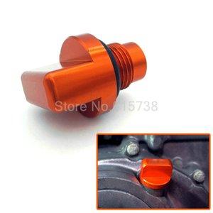 Новые аксессуары для мотоциклов с ЧПУ Оранжевый алюминиевый двигатель Магнитная пробка для слива масла для KTM DUKE 125/200/390