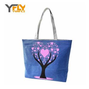 Wholesale- Y- 2016 Fashion Canvas Women Handbags Shoulder Crossbody Shopping Bag Lunch Bag Large Capacity Women Messenger Bags DB4828