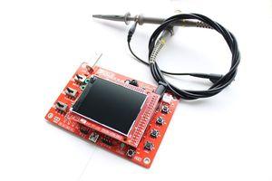 "Freeshipping DSO138 2.4"" TFT im Taschenformat Digital-Oszilloskope Kit DIY-Teile Hand + P6100 Oscilloscope Probe"
