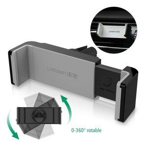 Ugreen Universalauto-Telefon-Halter Lüftungsschacht Mount GPS-Standplatz 360 Adjustable Handyhalter für intelligentes Telefon