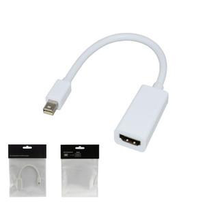 HDMI 어댑터 케이블에 대한 애플 맥 맥북 프로 공기에 무료 배송 높은 품질 벼락 미니 디스플레이 포트 디스플레이 포트 (DP)