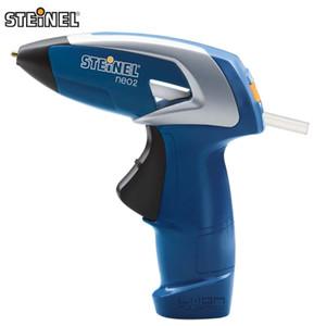 Alemania STEINEL Marca NEO2 Portátil Recargable Inalámbrica Hot Melt Glue Gun Handwork Repair Tool Artesanías para Niños 3 Palos