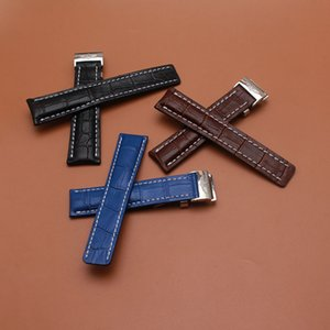 Nouvelle arrivée bracelets bracelets avec boucle en acier inoxydable poli boucle déployante pour la marque bracelet montres mens haute qualité