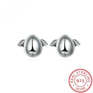 Monili di modo 925 orecchini d'argento del pinguino, orecchini europei e americani di modo orecchini all'ingrosso
