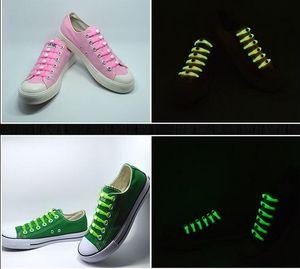 Yeni Tasarım Noel Hediyesi Yok Tie ayakabı Işıltılı LED Ayakkabı Bağcıklar Disko Parti Gece Flaş Işığı Yukarı Glow Stick Kayış ayakkabı bağları Running