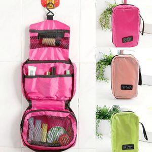 Kleine Größe Hohe Kapazität Outdoor-reisen Wasserdichte Tragbare waschbeutel Reise Mate Make-Up Kosmetische Aufbewahrungsbehälter Taschen ZA1710