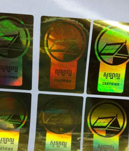 Holographic sticker hologram sticker laser sticker