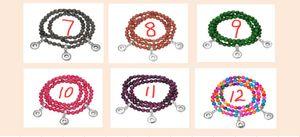 12 renk boncuk DIY snap düğmesi bilezik noosa bracelt fit 18mm charm halk tarzı bilezik takı DIY yapış bileklik Elastik bilezik 3 adet / grup