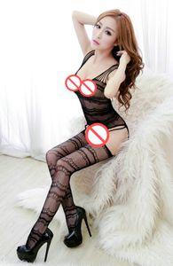 Vücut stocking dalga jakar koşum hatta çorap bayan bodysuit seksi bodysocks onesie nightie sexi langerie erotica mujer see through