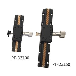 Z 축 역 매뉴얼 연구소 잭 수동 플랫폼 광학 표 PT-DZ100 슬라이딩 / 150 번역 단계는 Z는 축