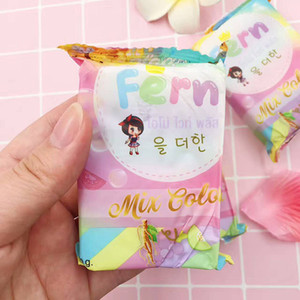 HOT Sale Brand New Arrivals OMO White Plus Soap Mix Color Plus Five Bleached White Skin 100% Gluta Rainbow Soap free shipping DHL