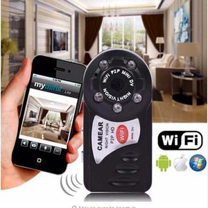 Q7 Mini Wifi DVR Wireless IP Camcorder Video Recorder Camera инфракрасная камера ночного видения Action Camera Motion Detection встроенный микрофон