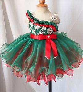 Baby Girls desfile vestido de la magdalena Toddler volantes corto Mini vestidos de bola infantil cumpleaños danza fiesta de baile vestidos de bola princesa mini vestido