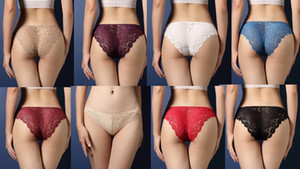 Venta caliente de lujo 3pieces / pack Bragas atractivas de las mujeres de encaje ropa interior sexy ladies lace briefs Sexy ropa interior sin rastro de alta calidad nuevo estilo