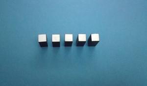 Piezoelectric Block 7.62 * 7.62 * 17.5 PZT4 Piezo cristallo ceramico trasduttore piezoelettrico trasmettitore piezoelettrico piezoelettrico PZT Crystal Chip