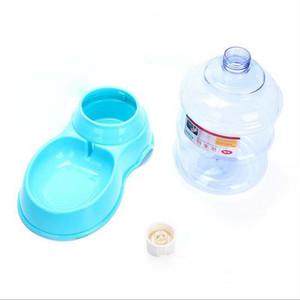 Wholesale-Pet dog supplies GM 3.5L تلقيم مغذ آلي يشرب نوافير يشرب كلب قصع مزيج من ثنائيّ استخدام مضادّ جرافة