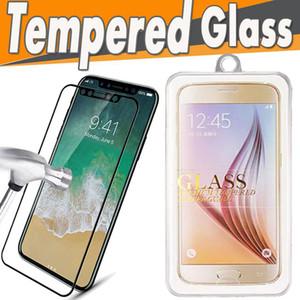 광택 탄소 섬유 3D 곡선 부드러운 가장자리 강화 유리 화면 보호기 아이폰 11 프로 최대 X 8 7 플러스 6 6 초 패키지
