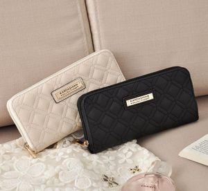 2017 heißer Verkauf KK Brieftasche Lange Design Frauen Geldbörsen Pu-leder Kardashian Kollektion High Grade Clutch Bag Reißverschluss Geldbörse Handtasche