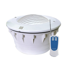 بطانة بركة مصباح LED 24W RGB Par56 حمامات السباحة الخفيفة مع غطاء من البلاستيك في الهواء الطلق للماء IP68 الإضاءة AC 12V 333 المصابيح تحت الماء لامب
