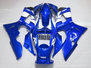 Kit carenatura in plastica per carene Yamaha YZFR1 2000 2001 set carenature blu YZF R1 00 01 IT11