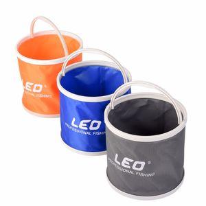 Portable Outdoor Big Capacity Canvas Folding Bucket Water tank 20*17 cm Camping Hiking Lightweight Fishing Bucket Tackle Tools