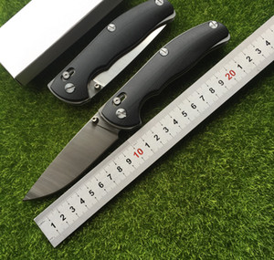 Yüksek kaliteli Tabargan 100 ns D2 + paslanmaz çelik G10 kolu av bıçağı mili cep EDC aracı