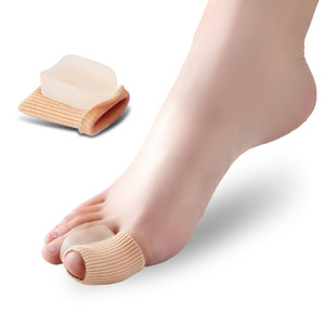 Hallux Valgus Separator Orthesen Toes Corrector Große Zehenhülse Zehenseparator Silikon-Bunion-Pads Protektoren Fußpflege