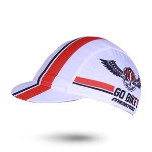 Patrón de la letra en verano ciclismo Cap Go Bike anti-sudor MTB / bicicleta de ciclo del equipo de sombrero Caps sombreros de alta calidad