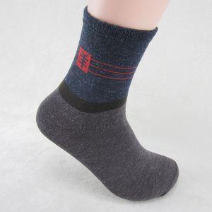Homens Meias de Algodão Suor Absorvente Respirável Inverno Quente de Lã Grossa Meias Casuais Homens Sock Pack 10 pares / lote Inverno Quente Acessórios de Vestuário