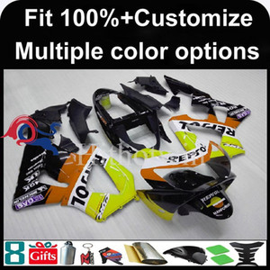 23colors + 8Gifts capot moto moule d'injection pour HONDA CBR929RR 2000-2001 CBR929RR 00 01 ABS Carénage en plastique