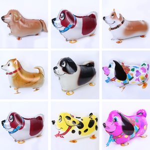 Walking Pet Balloon Animal Dog Balloons Wedding Party Favor Decoration Nuevo diseño Hydrogen Helium Christmas Inflatable Foil Gift