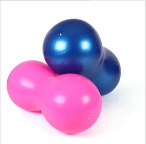 ПВХ йога арахис мяч детская игрушка надувной мяч упражнения мяч фитнес упражнения йога пилатес шары дома 90*45