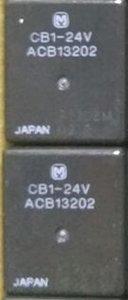 Yeni orijinal paket Röle CB1-24V ACB13202 Otobüs için Kullanılan, Kamyon, Ekskavatör RELAY OTOMOTİV SPDT 20A 24 V