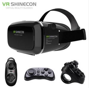 """VR Shinecon Virtual Reality 3D Occhiali Casco Box VR Cartone per 4.7-6 """"Smartphone 3D Movie Gamefor per iphone 6 / 6plus / 6s per samsung note3"""