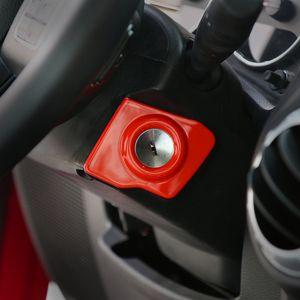 Старт двигателя Стоп Ключ зажигания Чехлы на кольца Кольцо Отделка Новое поступление Интерьер автомобиля Аксессуары для Jeep Wrangler 2011-2017